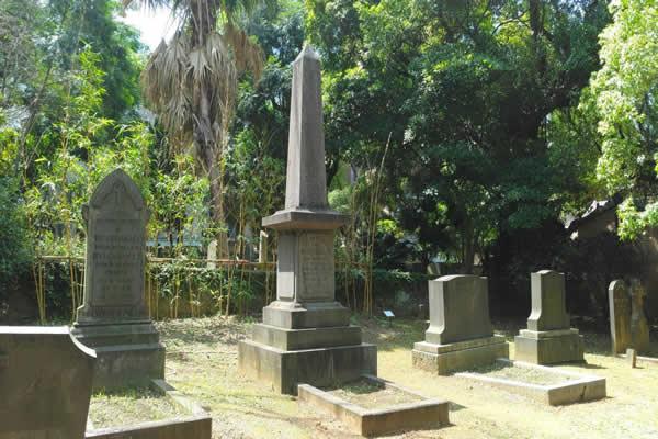 The Tomb of Rev. Mackay